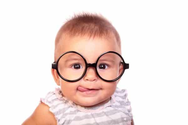lunettes de vue bébé
