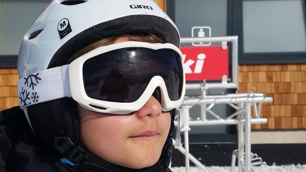 lunettes de ski enfant