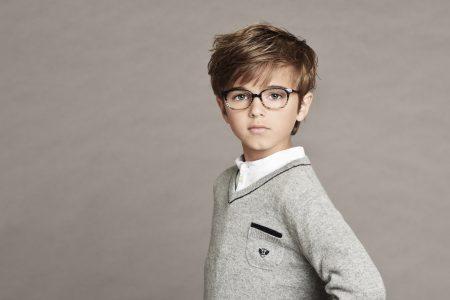 lunettes garçon tartine et chocolat